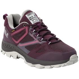 Jack Wolfskin Downhill Texapore Lave sko Damer, violet/pink